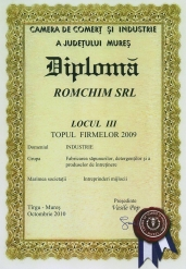 Diploma - Topul firmelor 2009